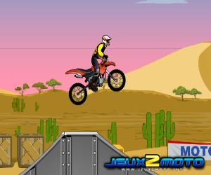 moto en jeu